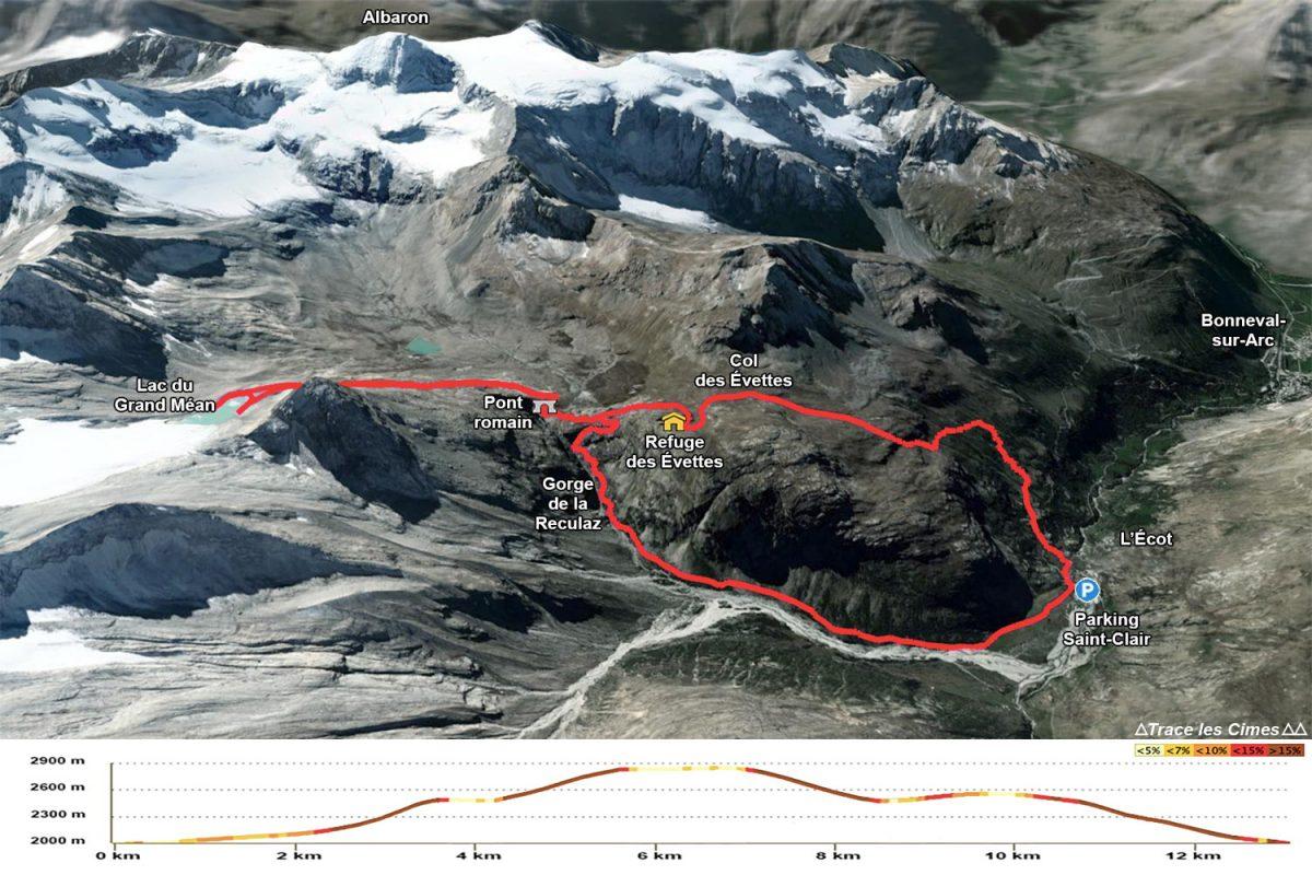 Trilha do Circo des Évettes - Alpes dos Gregos, Haute-Maurienne, Alpes Savoie