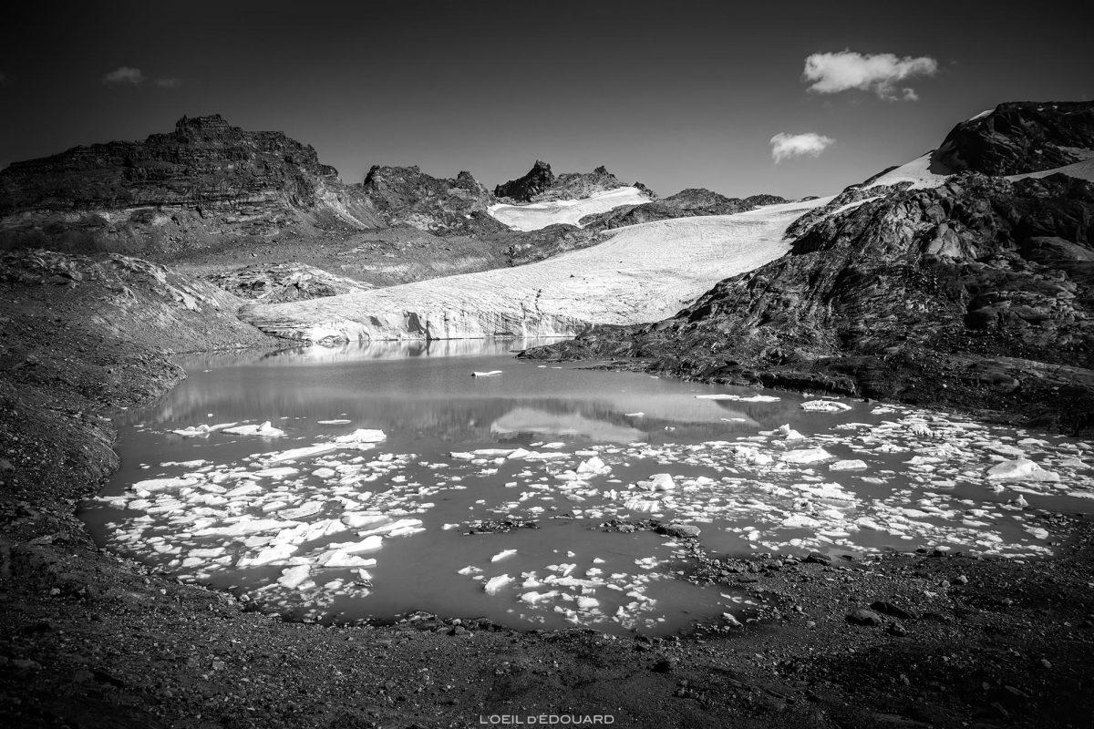 O Lac du Grand Méan acima do Cirque des Évettes - Alpes Grées, Haute-Maurienne, Savoie © L'Oeil d'Édouard - Todos os direitos reservados