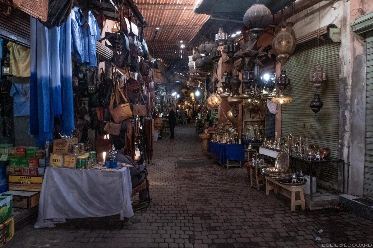 Medina: Souk des Ferronniers, Marrakech, Marrocos / Marrakech, Marrocos