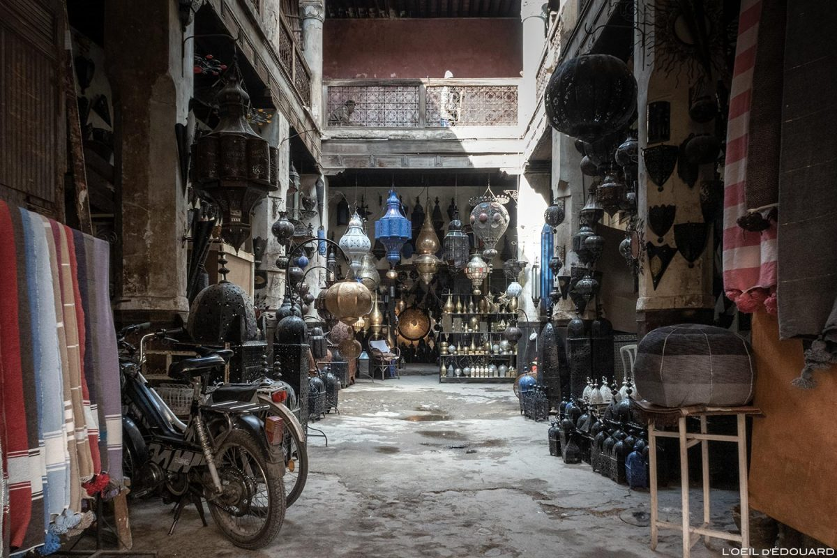 Fondouk: Souk Medina de Marrakech, Marrocos / Marrakech Marrocos