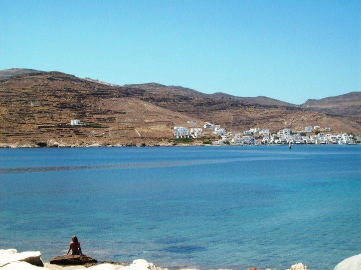 Tinos nas Cíclades - Ilha Grega