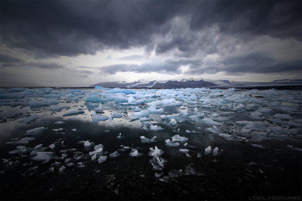 Icebergs no Lago Jokulsarlon, Islândia / Lagoa da Islândia © L'Oeil d'Édouard
