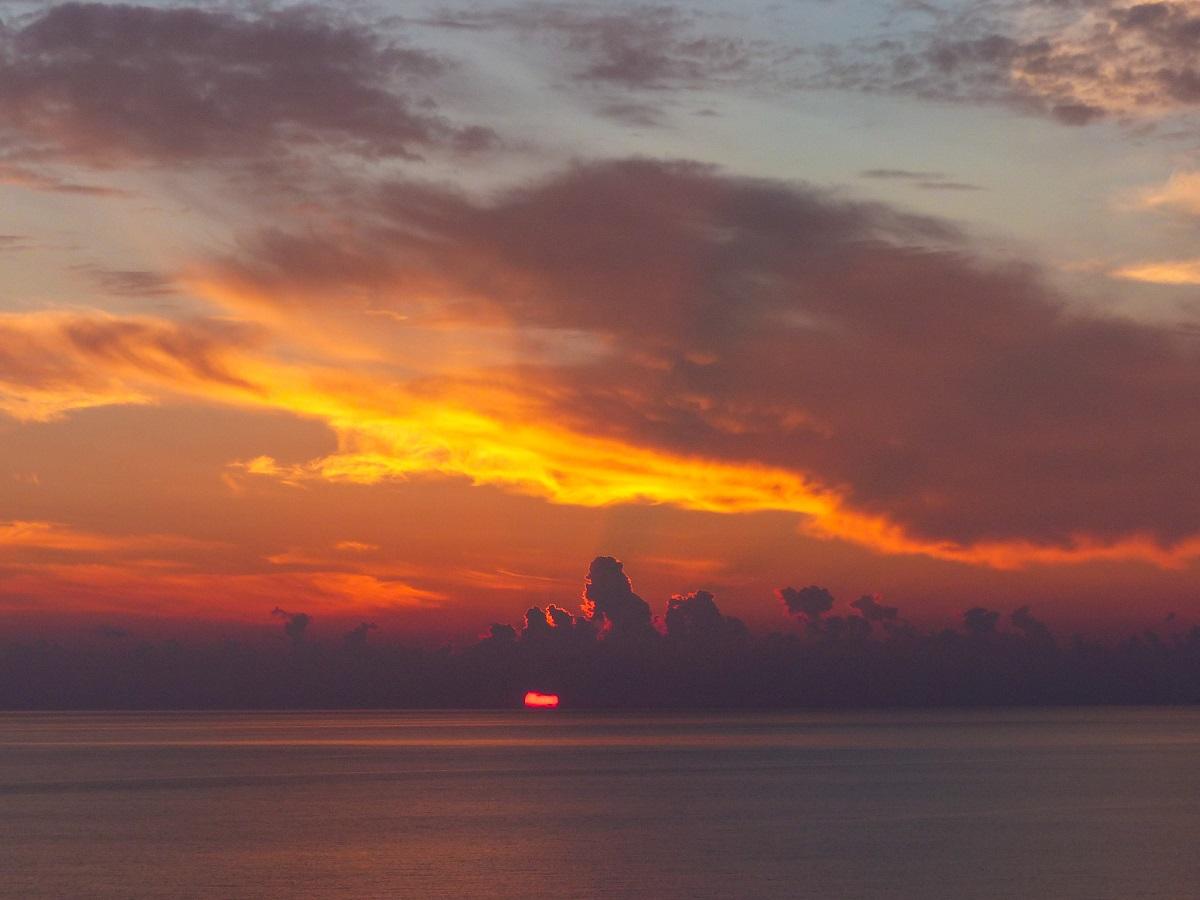 3 dias na ilha de Kythera: pôr do sol