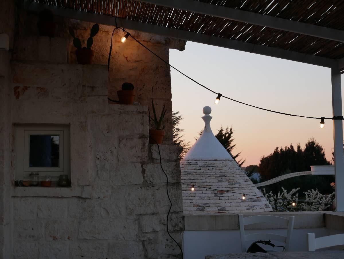 Dormindo em um trulli na Puglia