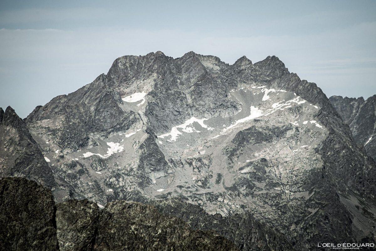 Caminhada Mont Argentera - Massiv du Mercantour Alpes-Maritimes Provença-Alpes-Côte d'Azur / Paisagem Caminhada na montanha Paisagem ao ar livre Caminhada no topo Caminhada Caminhada