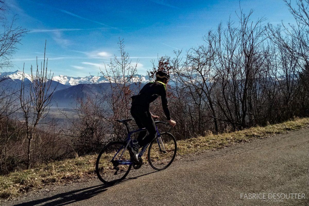 Ciclismo Col de Marocaz de bicicleta - Bicicleta de corrida ao ar livre do Massif des Bauges
