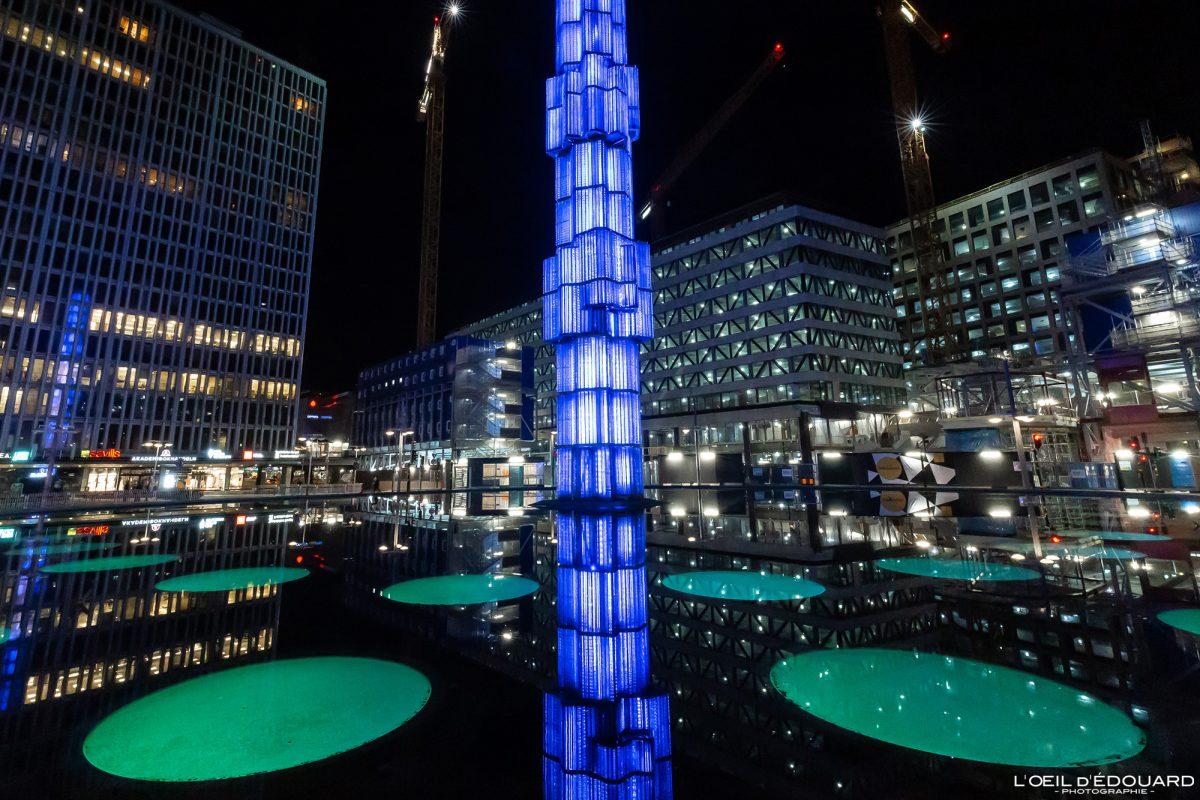 Hotorget Place - Sergels torg Norrmalm Stockholm Suécia Sverige Suécia arquitetura torre escultura