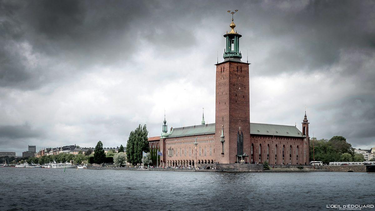 Câmara Municipal de Kungsholmen Estocolmo Suécia Suécia Suécia Arquitetura