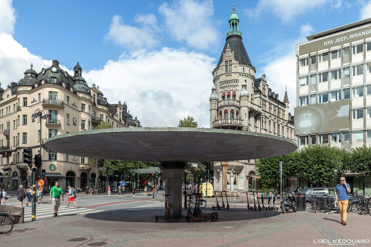 Square Stureplan Norrmalm Stockholm Suécia Suécia Suécia