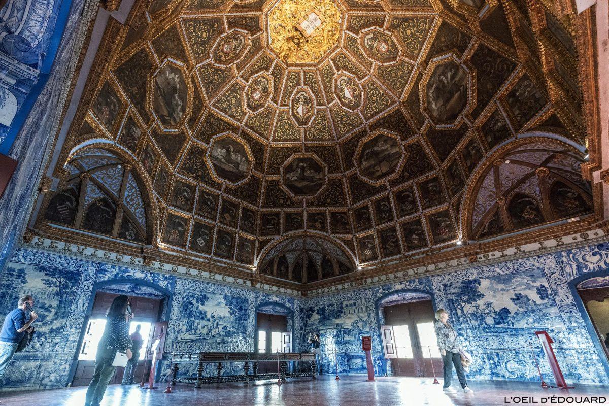 Salão de Brasões, interior do Palácio Nacional de Sintra Portugal Lisboa - Sala dos brasões, Palácio Nacional Sintra Portugal Lisboa
