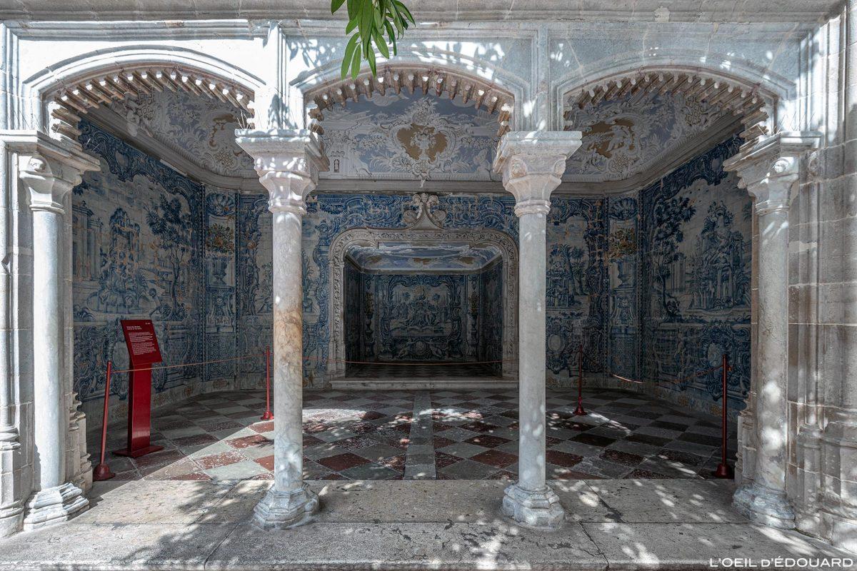 Interior da caverna de banhos do Palácio Nacional de Sintra Portugal Lisboa - Palácio Nacional Sintra Portugal Lisboa