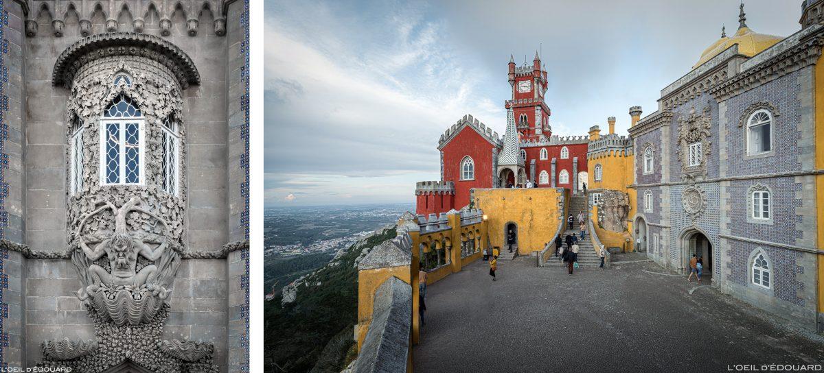 Palácio da Pena, Sintra Portugal - Castelo do Palácio Nacional de Pena Sintra Lisboa