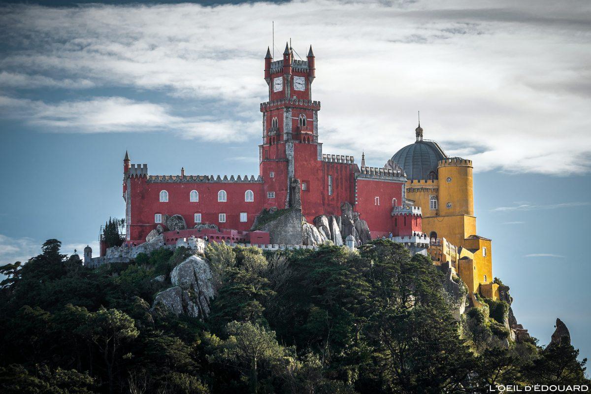 Palácio da Pena, Sintra Portugal - Palácio do Palácio Palácio Nacional da Pena Sintra Lisboa © L'Oeil d'Édouard - Todos os direitos reservados
