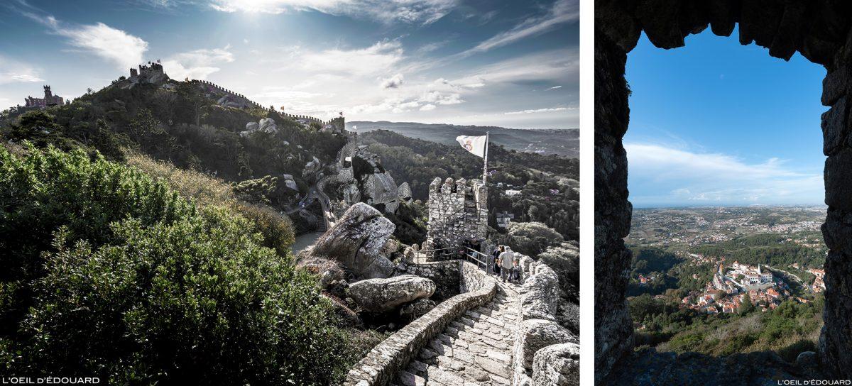 Castelo dos Mouros, Sintra Portugal - Castelo Castelo dos Mouros Sintra Lisboa