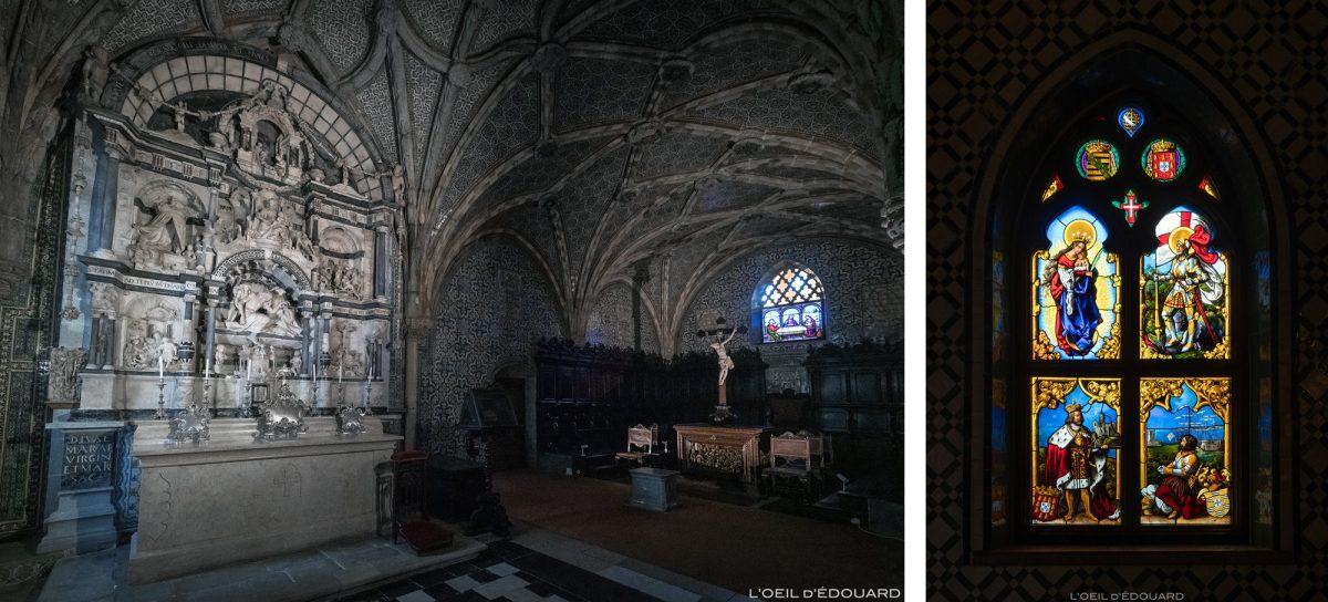 Capela do Palácio da Pena, Sintra Portugal - Palácio Nacional da Pena, Igreja de Sintra Lisboa