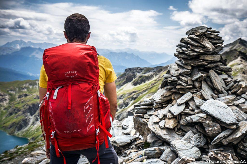 Teste da mochila Osprey Talon de 44 litros no Pic du Malrif em Queyras (Hautes-Alpes)