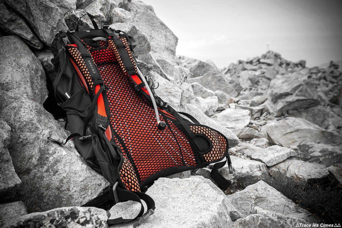 Relatório de teste de mochila de caminhada Osprey Exos 38