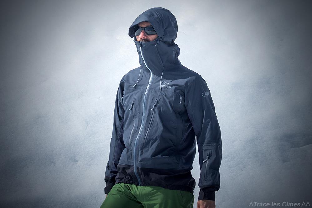 Avaliação da jaqueta Gore-Tex Avaliação da jaqueta do Eider Commodore (preta)