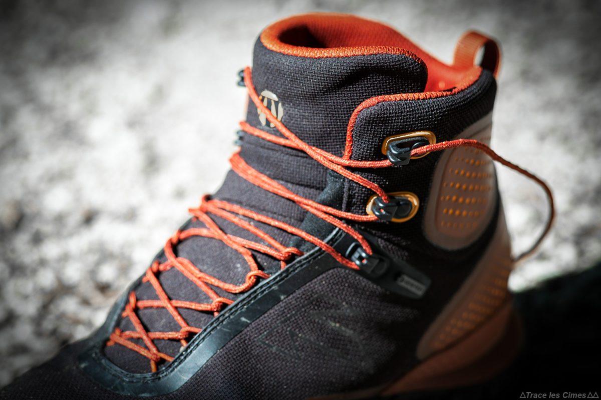 Teste Technique Forge S de sapatos de montanha com sobreposição - Sapatos de trekking para caminhadas Classificação para caminhadas de montanha