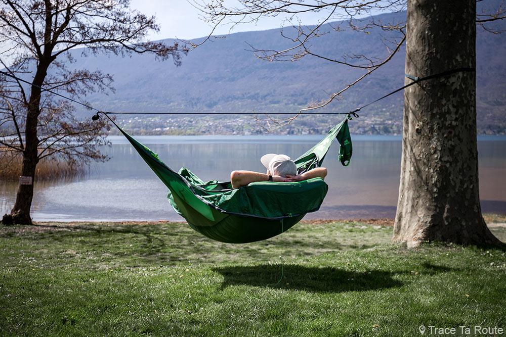 Draumr hammock note 3.0 Amok note - Lac du Bourget, praia Lido, Tresserve, Aix-les-Bains