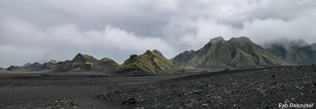 Storkonufell e Smafjallarani - Paisagem Trek Laugavegur Landmannalaugar Thorsmörk Islândia Mountain Trekking Islândia Paisagem Montanha Islandês Exterior Selvagem