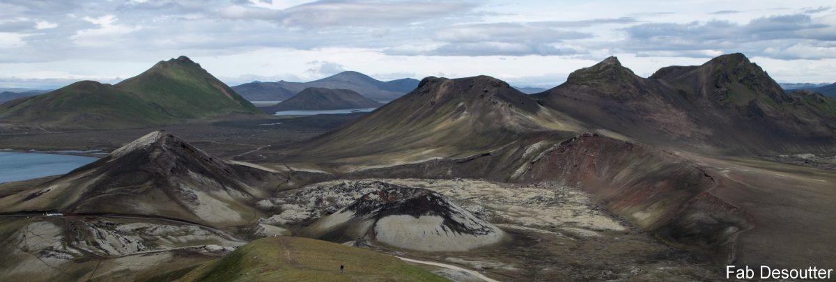 Paisagem Trek Laugavegur Landmannalaugar Ilha Mountain Trekking Island Montanha Islensk Selvagem