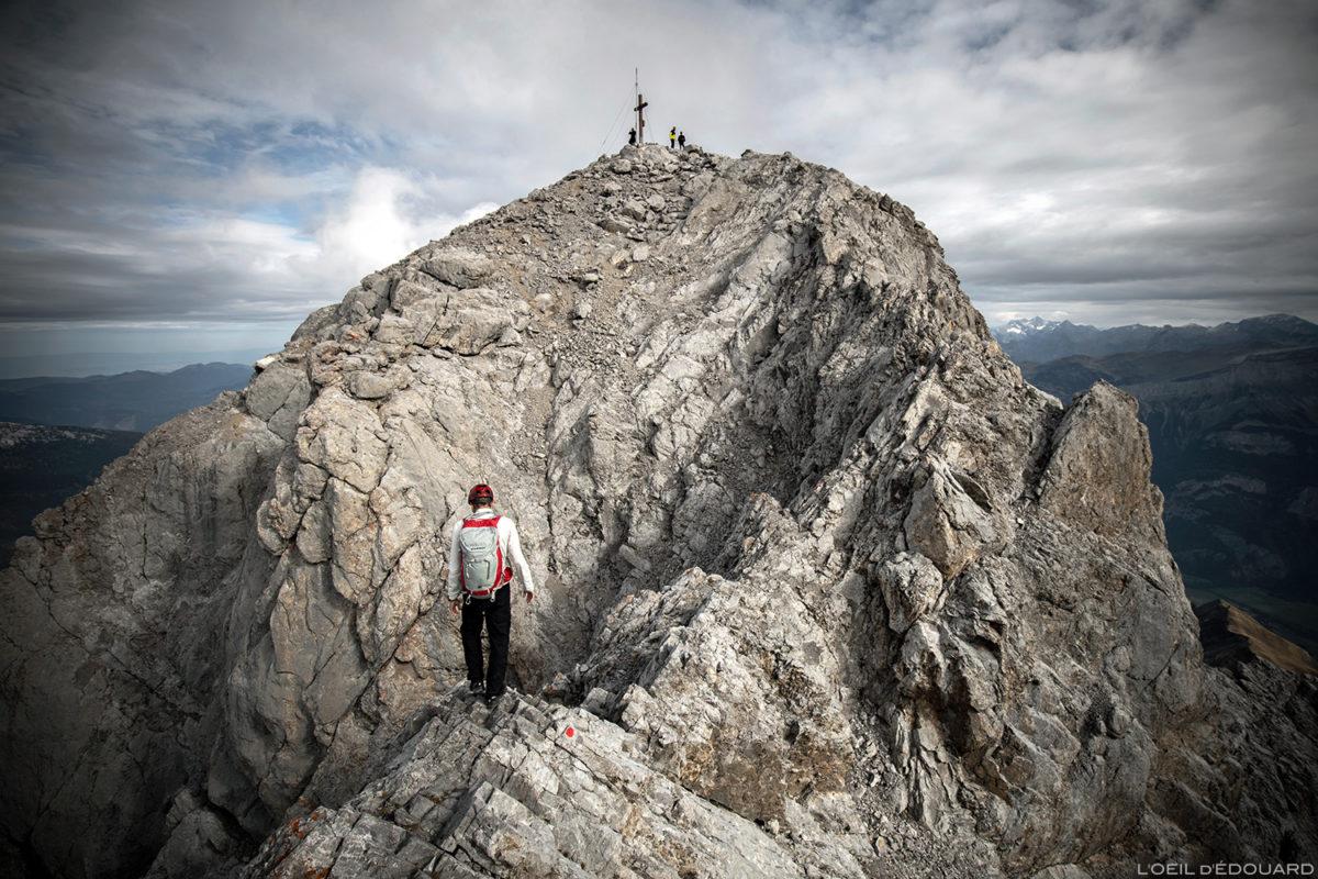 A cimeira de Pointe Percée, Aravis / Haute-Savoie © L'Oeil d'Édouard - Todos os direitos reservados