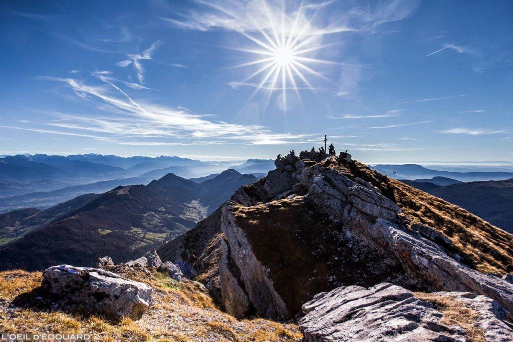 Cimeira do Mont Colombier, Maciço des Bauges Sabóia © L'Oeil d'Édouard