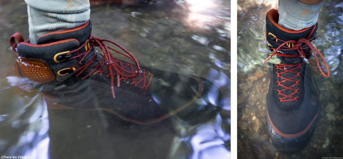 Experimente as botas de caminhada impermeáveis Gore-Tex Tecnica Forge S - botas de caminhada para caminhadas na montanha