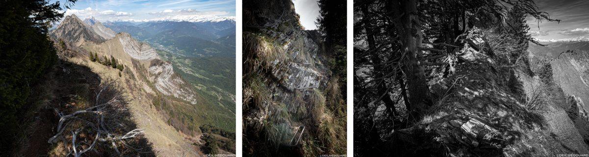Crête de la Belle Étoile, Bauges Savoie Alps - Paisagem Caminhada nas montanhas Picos ao ar livre Paisagem montanhosa