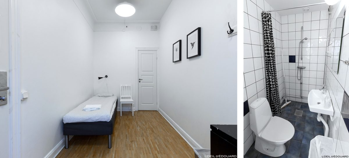 Quarto de albergue da juventude Birka hostel Stockholm Suécia Sverige Suécia