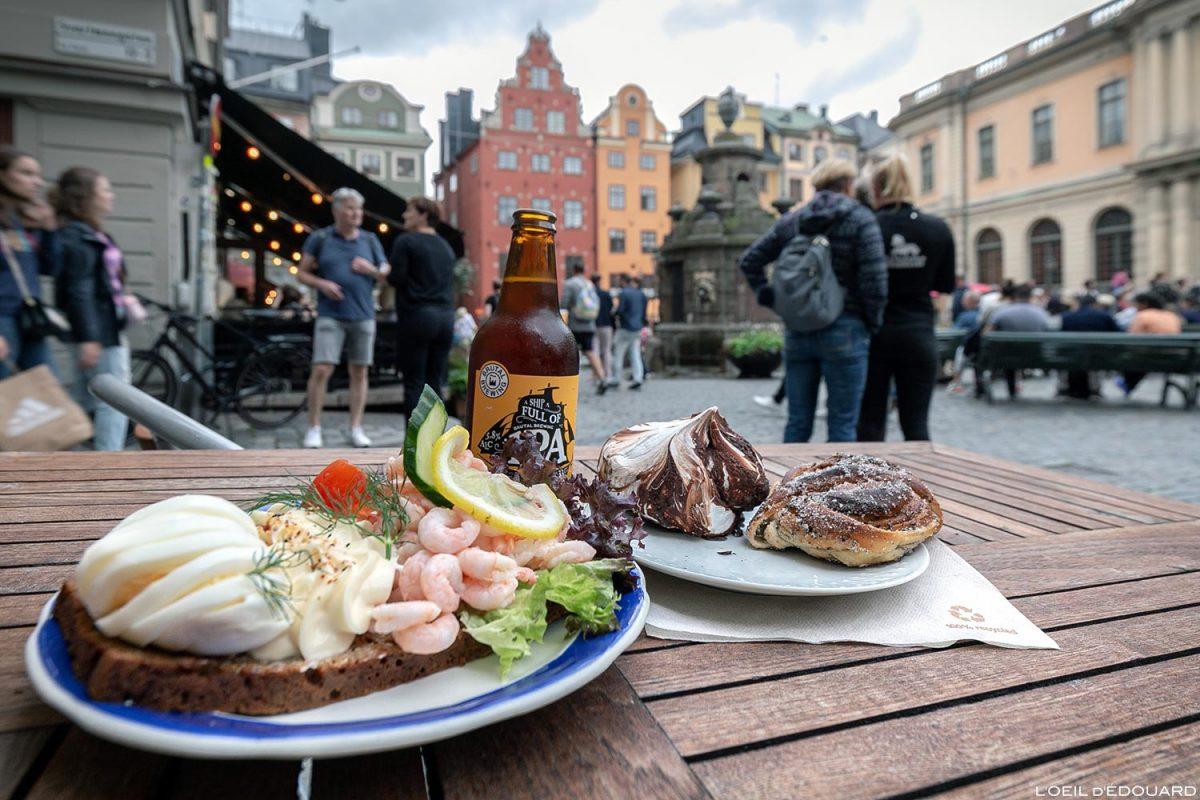 Raksmörgås - Grillska Huset, Stockholms Stadsmission, Stortorget, Gamla Stan Stockholm Suécia Suécia Cozinha sueca Sverige