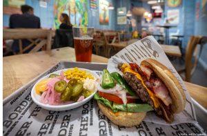 Burger Restaurant The Border, Estocolmo Suécia Suécia Comida Sverige