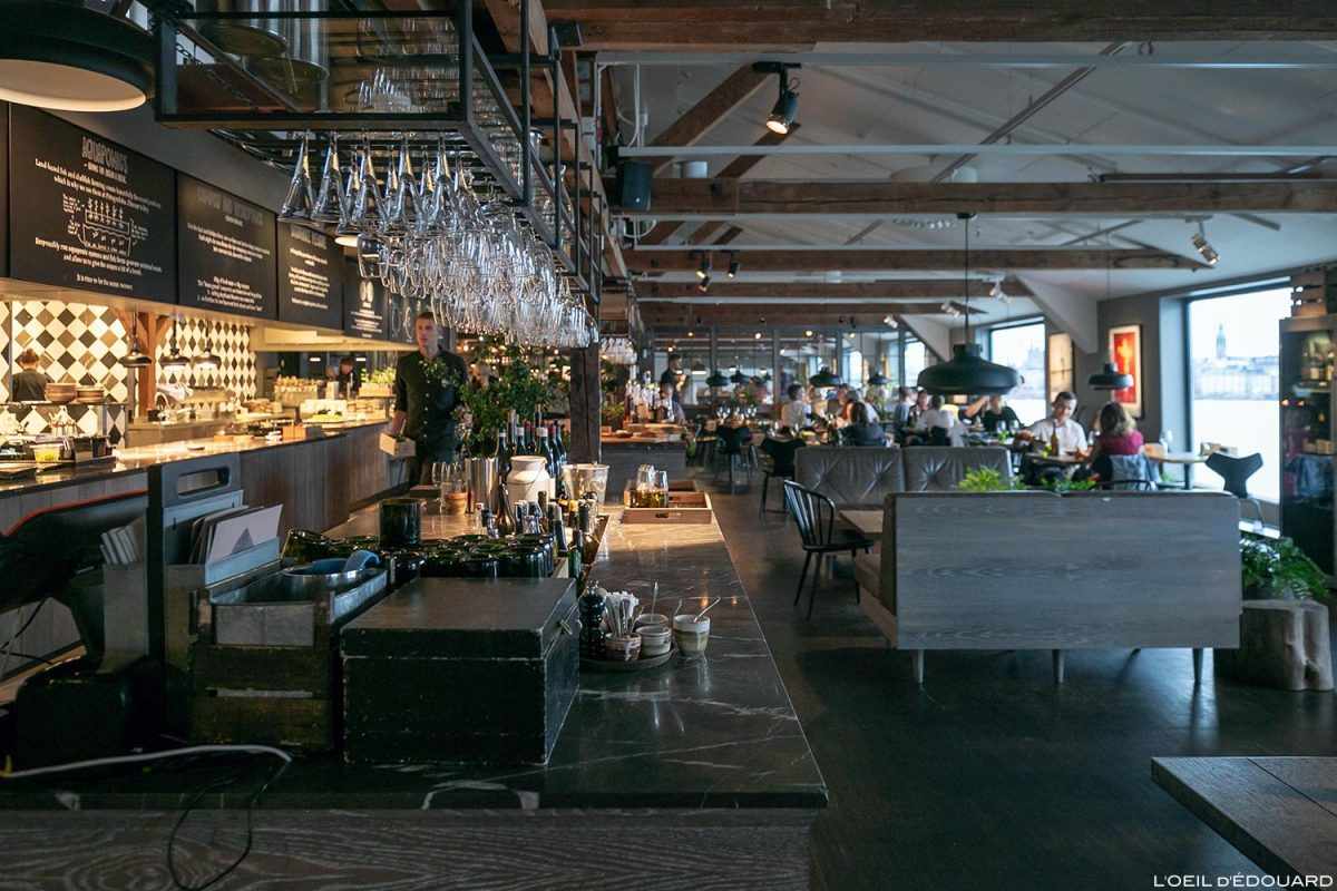 Brasserie Restaurant Museum Fotografiska, Estocolmo Suécia Suécia Suécia