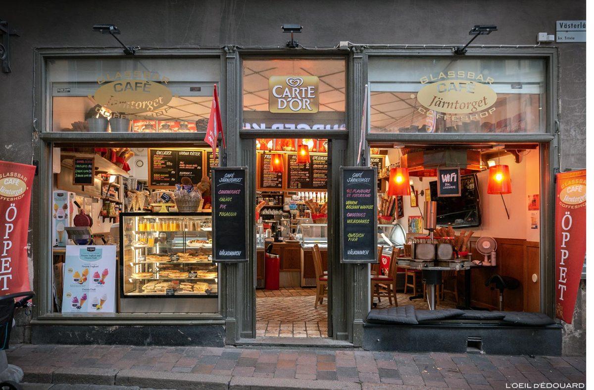 Café Järntorget, Estocolmo Suécia Suécia Suécia Alimentos