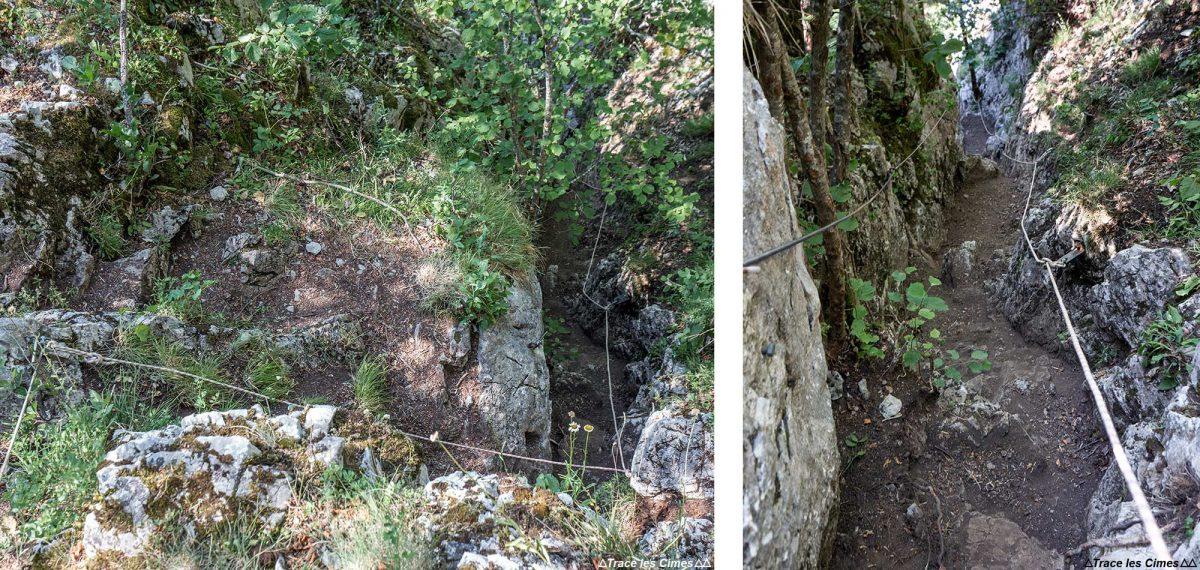 Pas de l'Ours - Caminhadas nos Alpes Sambuy de Haute-Savoie - Alpes montanhosos Caminhadas nas montanhas ao ar livre