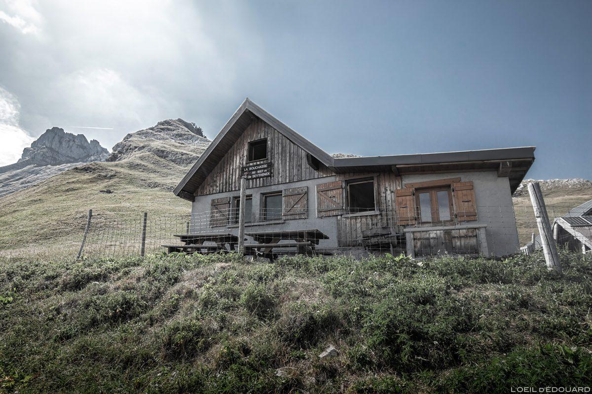 Le Chalet de la Bouchasse e Pointe de la Sambuy, Alpes Haute-Savoie - Alpes paisagem montanhosa Caminhada paisagem montanhosa, caminhada ao ar livre