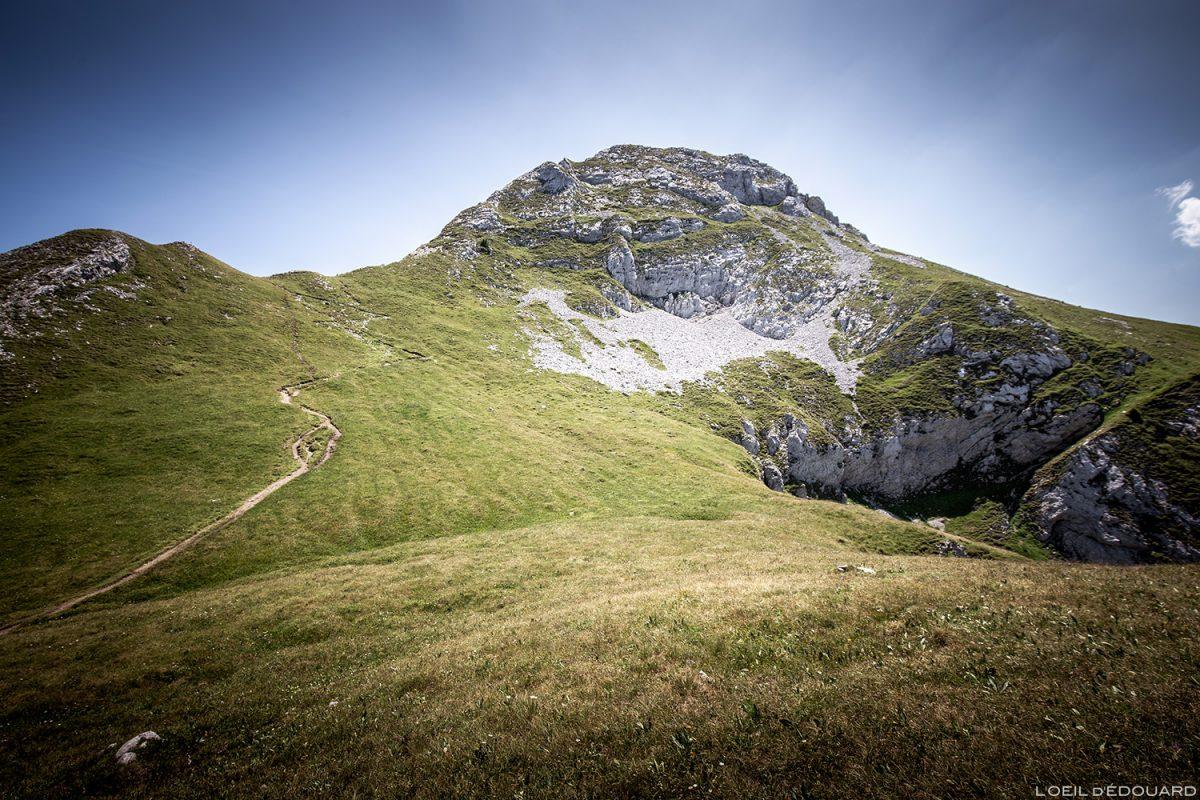 La Pointe de La Sambuy, Haute-Savoie-Alpen - Alpes caminhadas na montanha paisagem montanha caminhadas picos ao ar livre