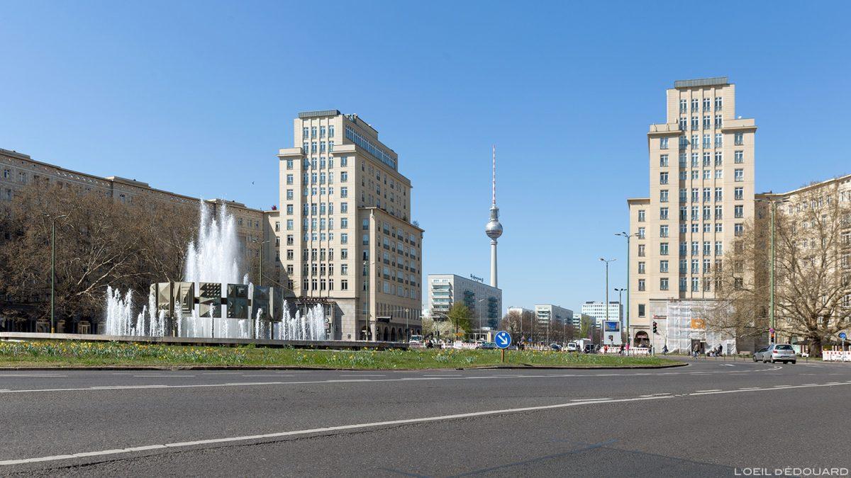 Strausberger Platz Berlin Germany Deutschland Alemanha