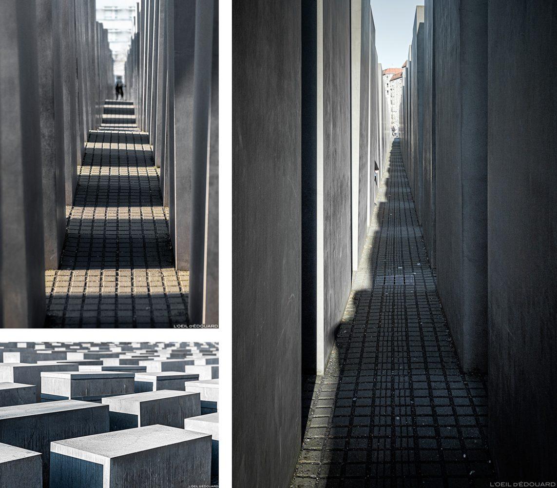 Memorial aos Judeus Mortos da Europa Alemanha / Memorial aos Judeus Políticos da Europa Memorial do Holocausto na Alemanha