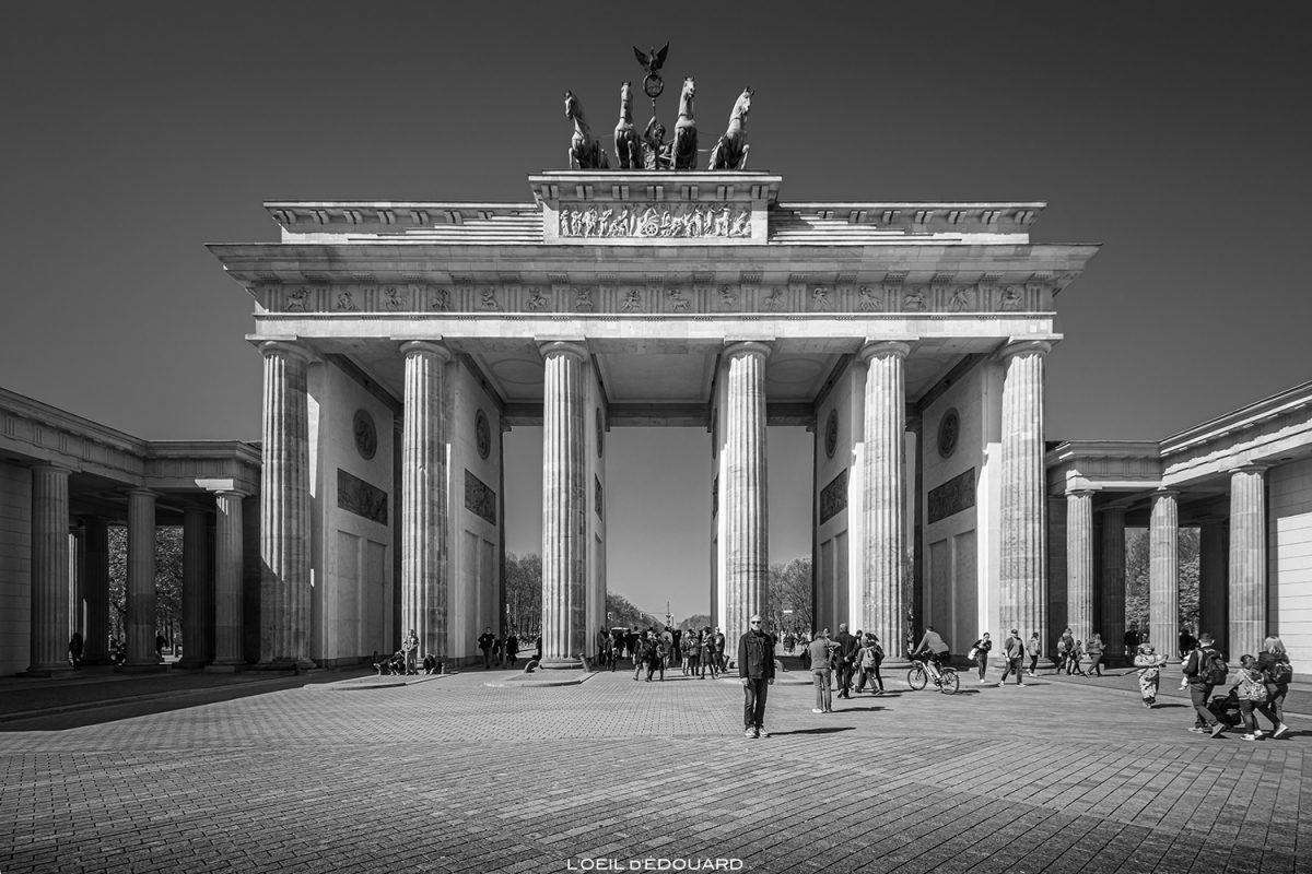 Portão de Brandemburgo, Berlim Alemanha / Portão de Brandemburgo na Alemanha / Portão de Brandemburgo na Alemanha © The Eye of Edward - Todos os direitos reservados