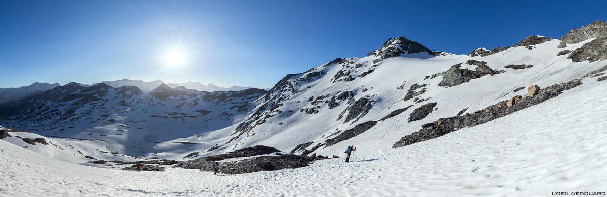 Glaciar La Pointe de Méan Martin Caminhada Montanhismo, Maciço de Vanoise - Paisagem Montanha Alpes Paisagem montanhosa Escalada