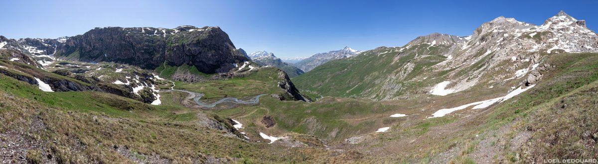 Le Plan des Fours, maciço de Vanoise, paisagem montanhosa paisagem montanhosa dos Alpes
