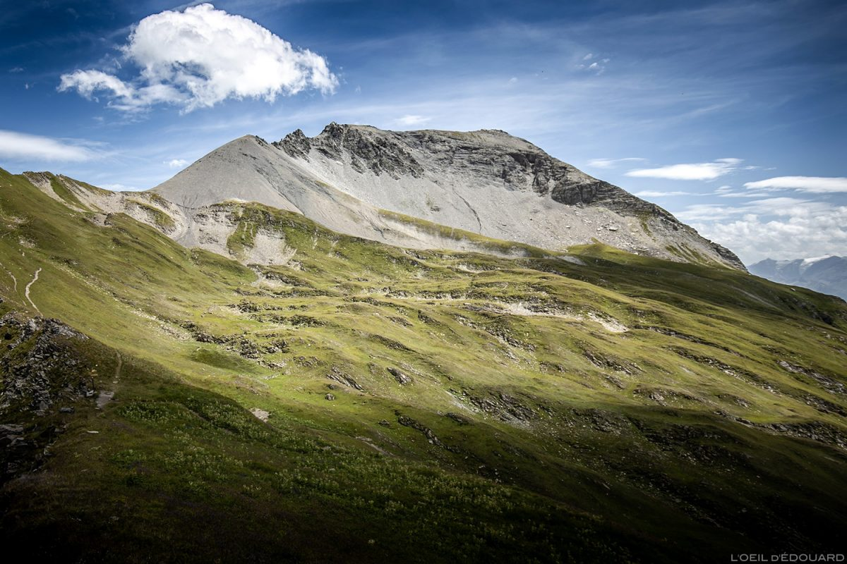 Pointe de la Terrasse du Passeur de Pralognan, Le Beaufortain Savoie Paisagem Alpes montanhosos © L'Oeil d'Édouard - Todos os direitos reservados