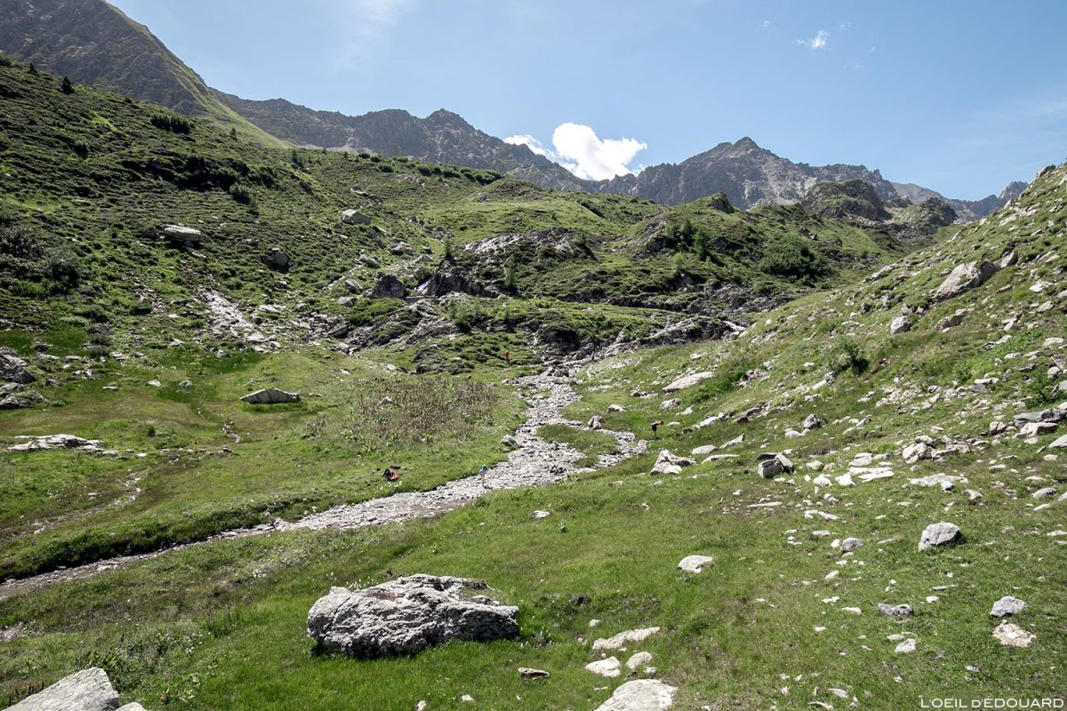 Ruisseau de la Neuva, Cormet de Roselend, Alpes Savoy de Beaufortain