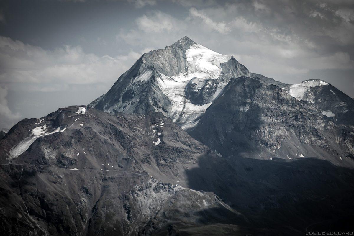 Monte Pourri do topo da Pointe de la Terrasse, paisagem da Sabóia Al Beaape Paisagem Alpes montanhosos © L'Oeil d'Édouard - Todos os direitos reservado