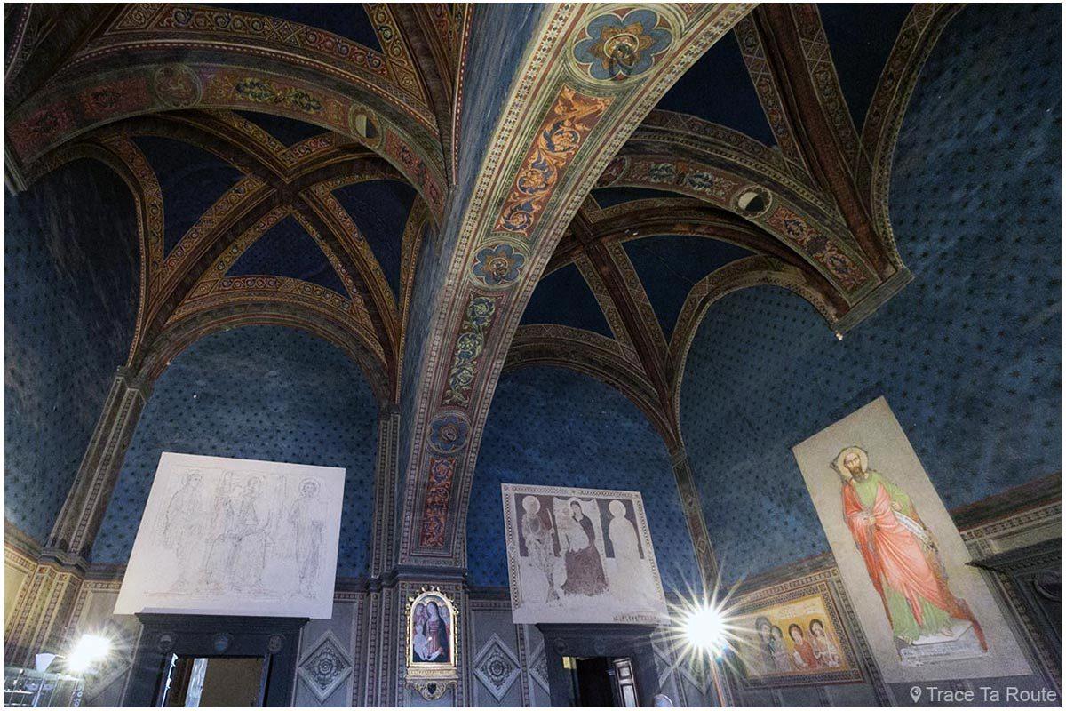 Antessala do Consistório / Salão dos Cardeais do Museu Cívico de Siena - Antessala do Consistoro / Salão dos Cardeais do Palazzo Pubblico de Siena