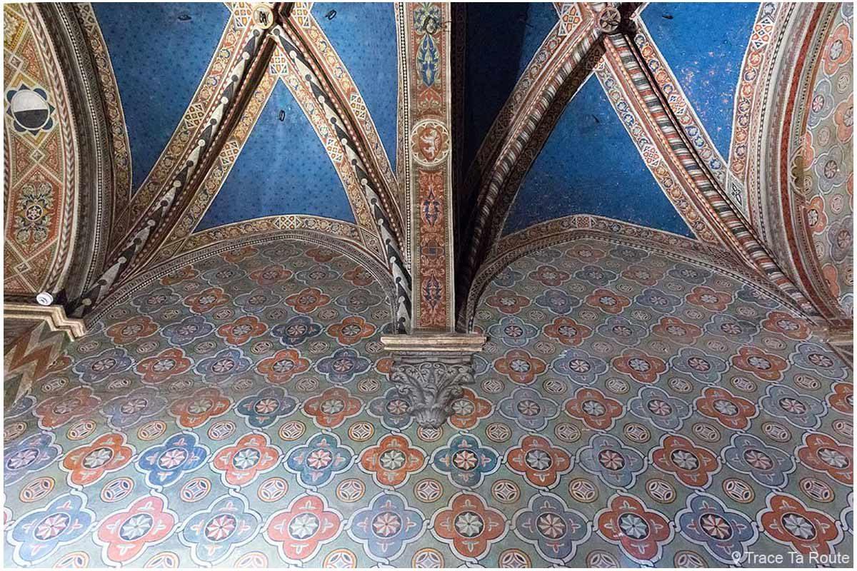 Vestíbulo do Museu Cívico de Siena - Vestíbulo do Palazzo Pubblico de Siena