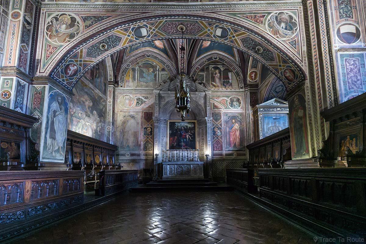 A Capela do Museu Cívico de Siena - Capela do Palazzo Pubblico de Siena