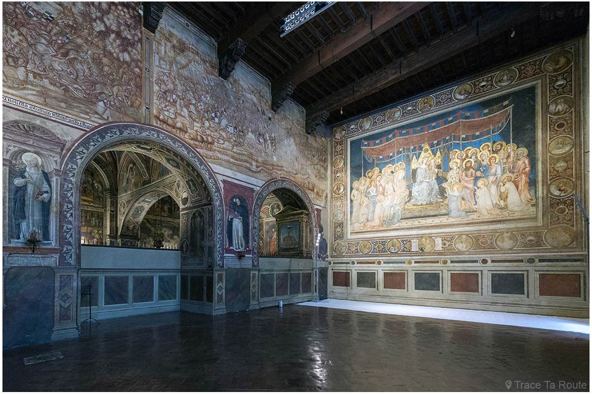 Sala Mappemonde do Museu Cívico de Siena - Sala Mappemonde do Palácio Público de Siena